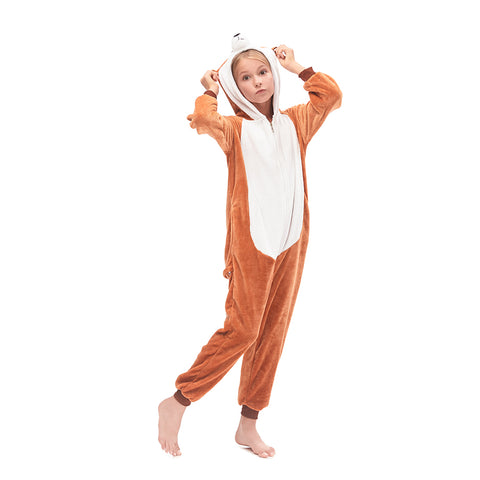 Mongoose Girls Onesie Pajama