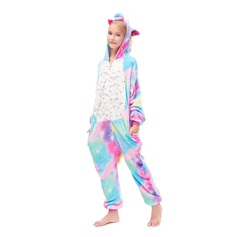 colorful girls pajamas