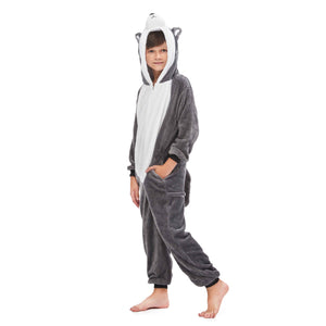 animal character pajamas for boys