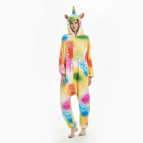 women star unicorn pajamas