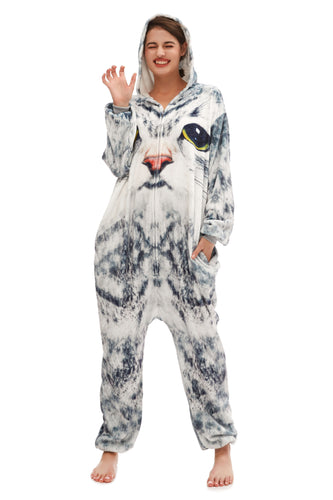 Hooded Plush Onesie