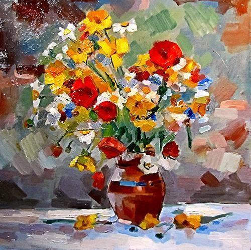 Floral art - Paint by Numbers