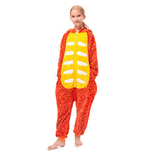 Load image into Gallery viewer, Plush Hooded Girl Pajamas