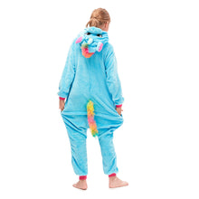 Load image into Gallery viewer, pegasus hooded nightgown for girls