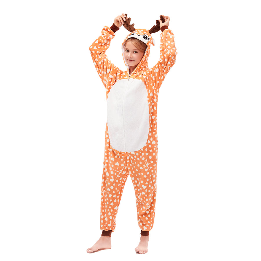 fawn onesies for girls