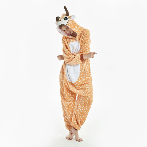 yellow fawn onesies for women