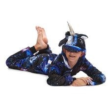 Load image into Gallery viewer, galaxy unicorn onesie