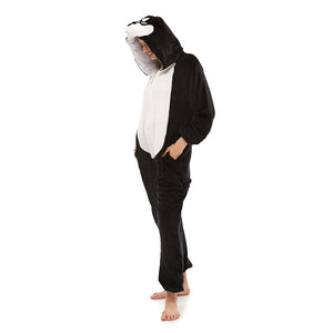 Black Huskie Onesie Pajamas Target For  Women