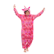 Load image into Gallery viewer, pink unicorn boys pajama