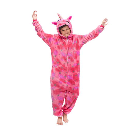 pink unicorn boys pajama