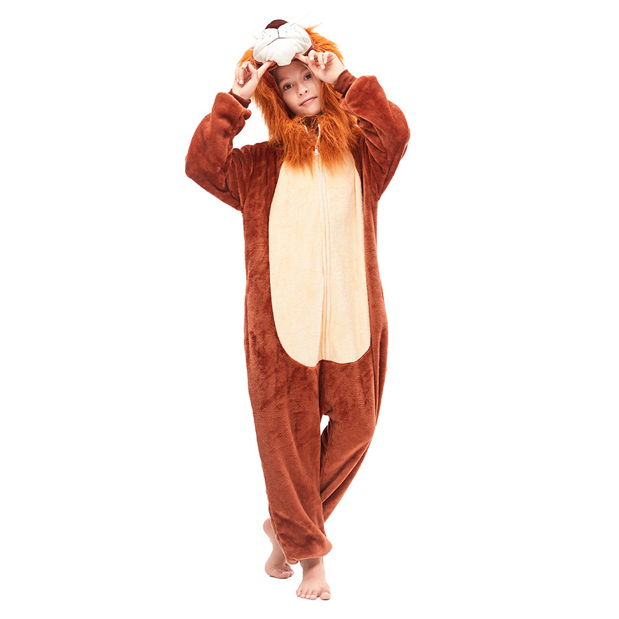 thick fleece lion king pajamas