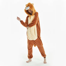 Load image into Gallery viewer, brown lion costume for women