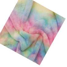 Load image into Gallery viewer, colorful long-pile fleece