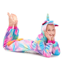 Load image into Gallery viewer, long sleeve soft flannel onesies for girls