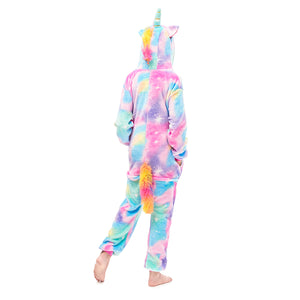 pegasus colorful tail onesie for girls