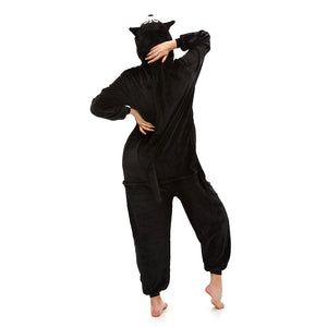 Women Jumpsuit Pajamas With Hooded