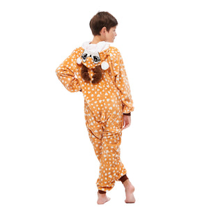 cute reindeer onsies with long sleeve