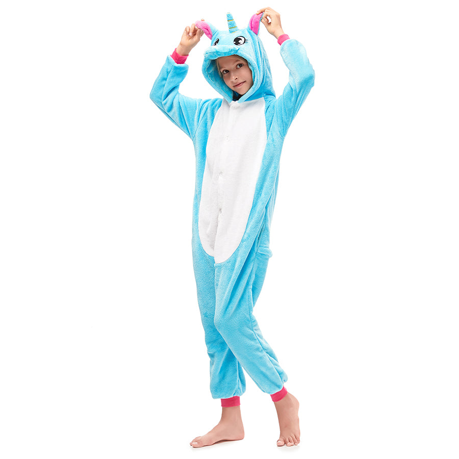 blue pegasus girls pajamas