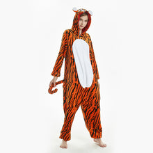 Load image into Gallery viewer, leopard print tiger pajama