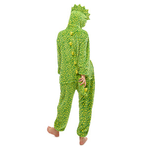 adult Triceratops furry onesie