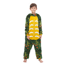 Load image into Gallery viewer, Green Toothless Triceratops Nightwear for boys