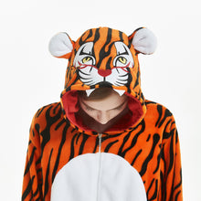 Load image into Gallery viewer, wild tiger comfortable pajama