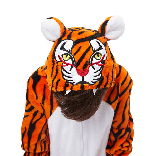 cute tiger image pajamas boys
