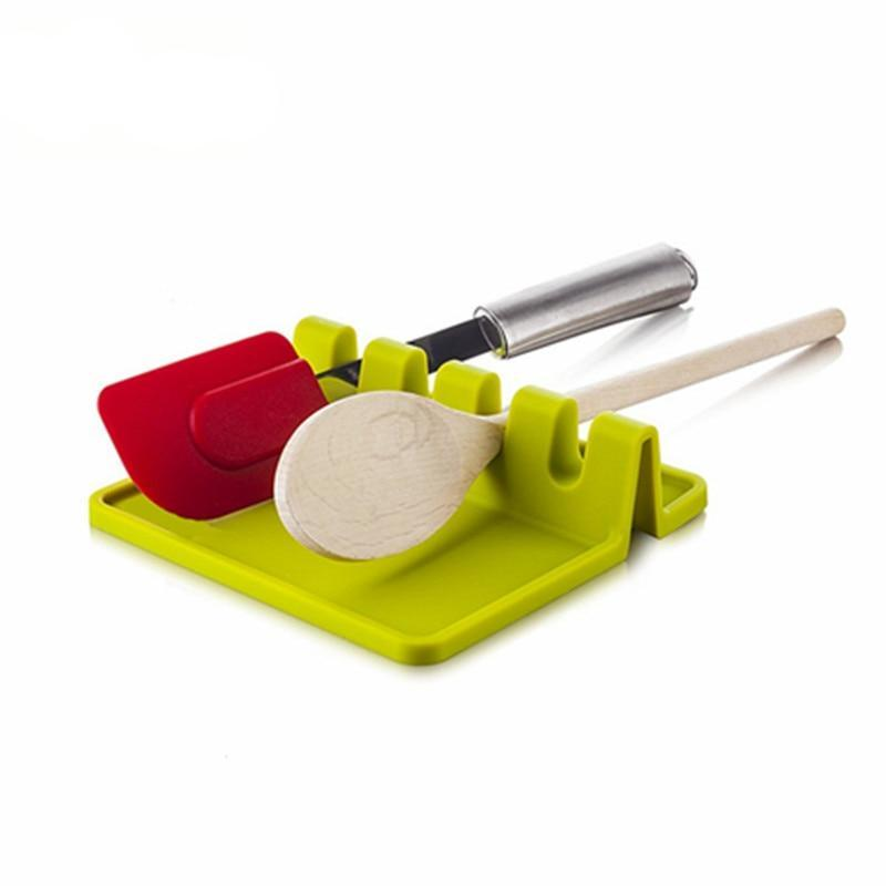 Silicone Spoon Rest Utensil Holder