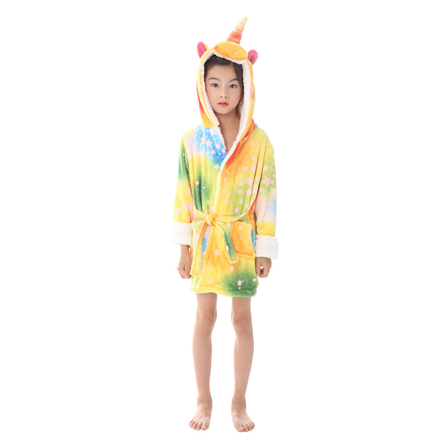 colorful star unicorn robes