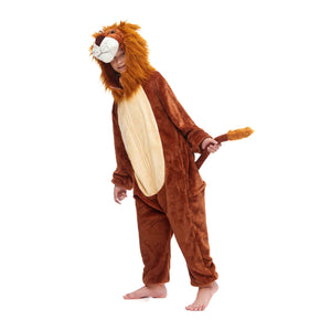 lion king kids pajamas with a long tail