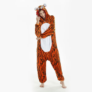 animal women tiger onesies