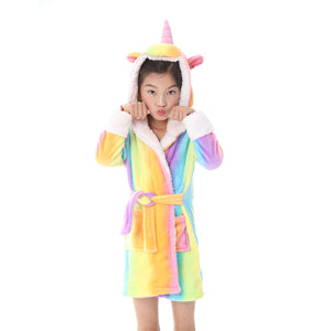 cute and light bathrobes for girls