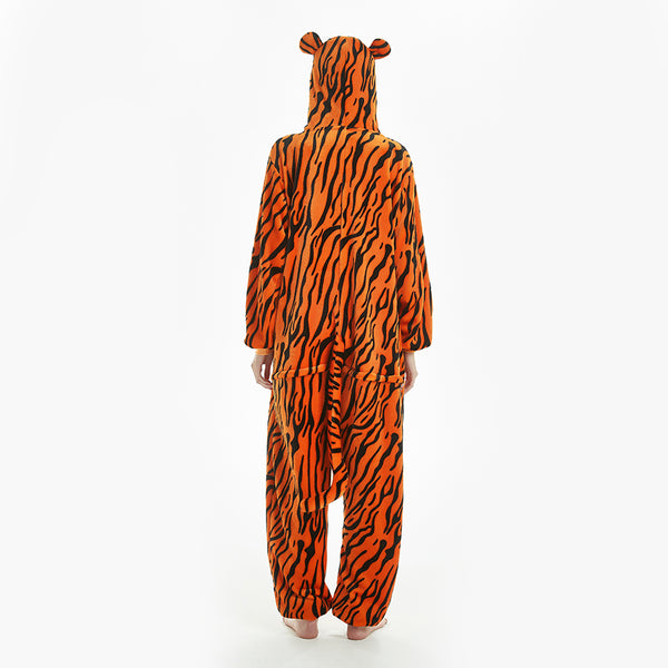 fleece tiger creature kigurumi