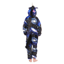 Load image into Gallery viewer, loose fitting long sleeve hood girls onesie