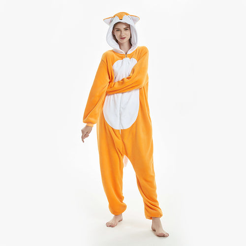 women fox  pajamas