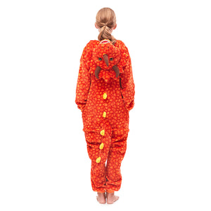 Plush Hooded Girl Pajamas