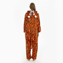 Load image into Gallery viewer, tail women tiger christmas sleepwear