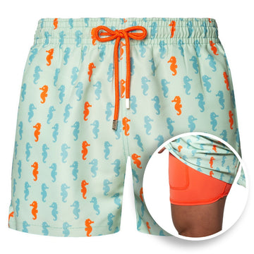 Collins - Capelle Wave Swim Trunks