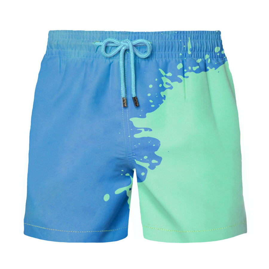 Switch V 2.0 Color Changing Swim Trunks | Blue-Green