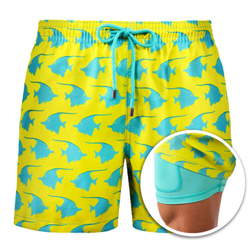 Collins - Keep Swimming Swim Trunks