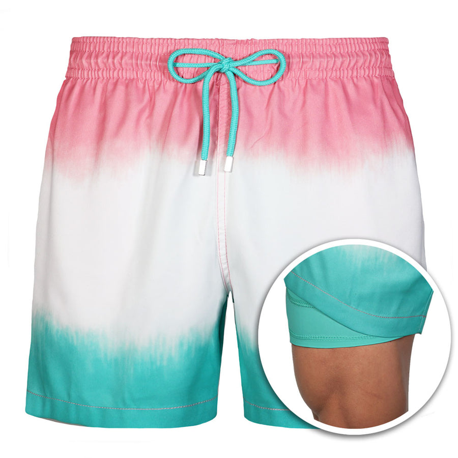 Collins - Capelle Mist  Swim Trunks