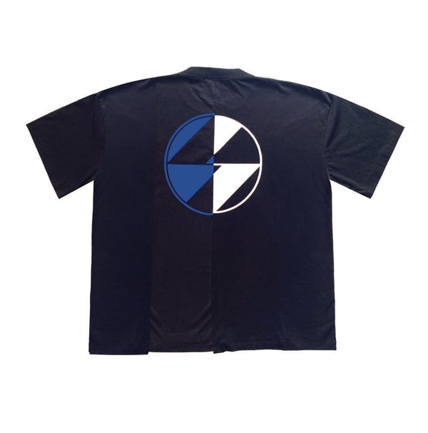 Reconstructed Split Logo T-Shirt