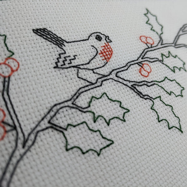 Christmas stitch-a-long - Christmas branches.
