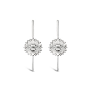 Open image in slideshow, Earrings ' Fleur Hooks'