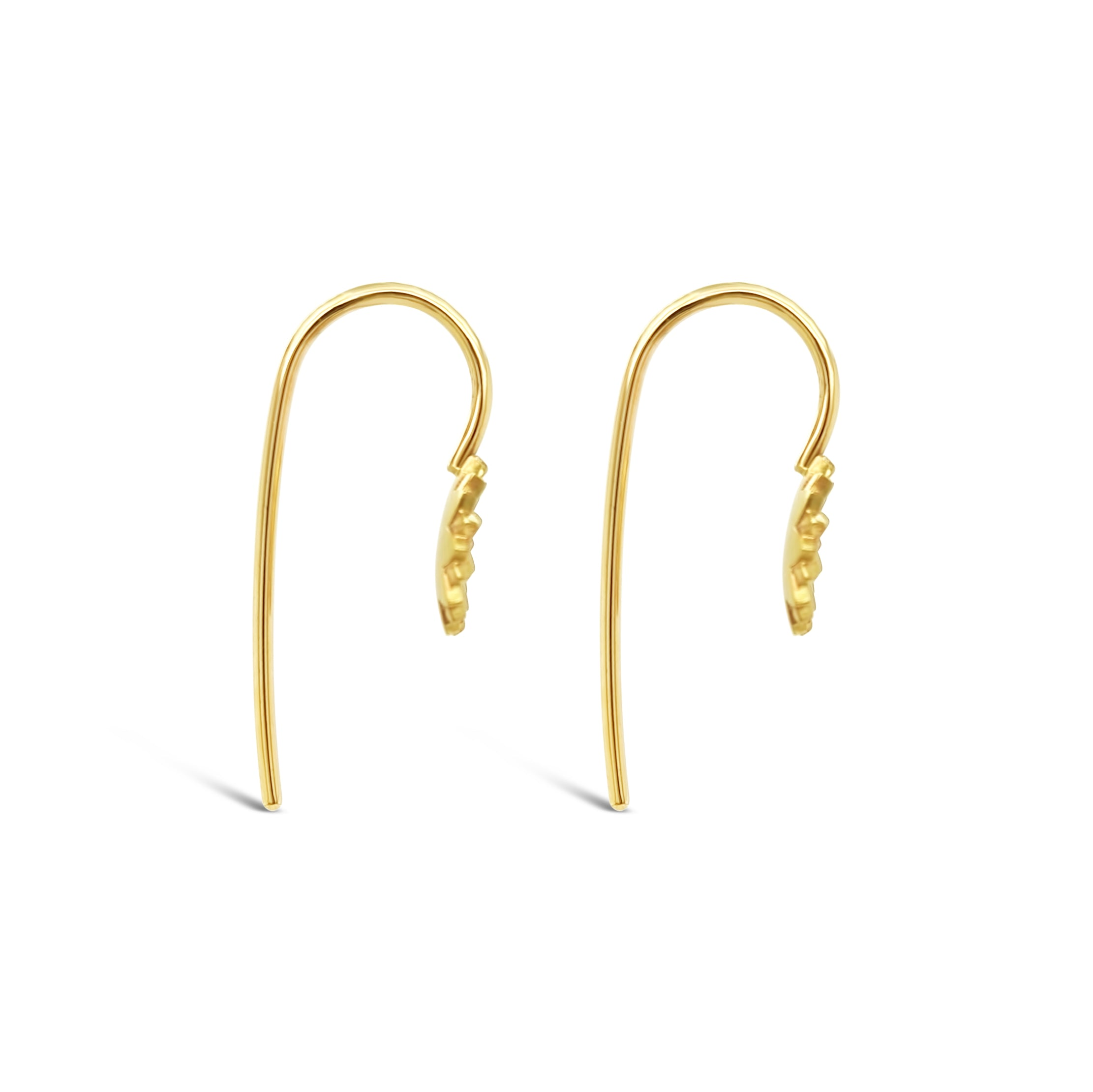 Earrings ' Fleur Hooks'