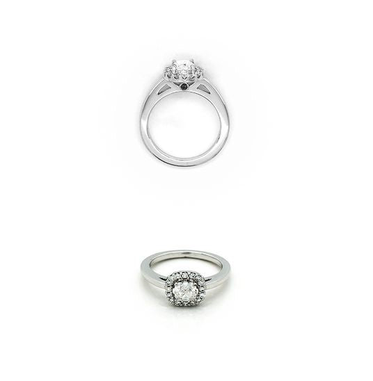 Bespoke Engagement Ring Made by Red Cloud Jewels