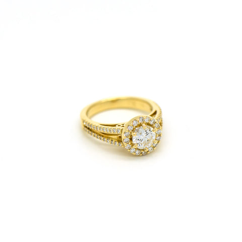 Bespoke Engagement Ring Designed and Made by Red Cloud Jewels