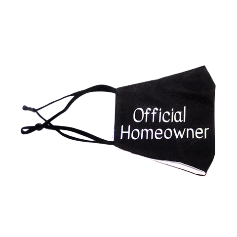 OFFICIAL HOMEOWNER - MASK