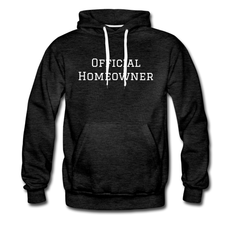 OFFICIAL HOMEOWNER - UNISEX HOODIE - charcoal gray