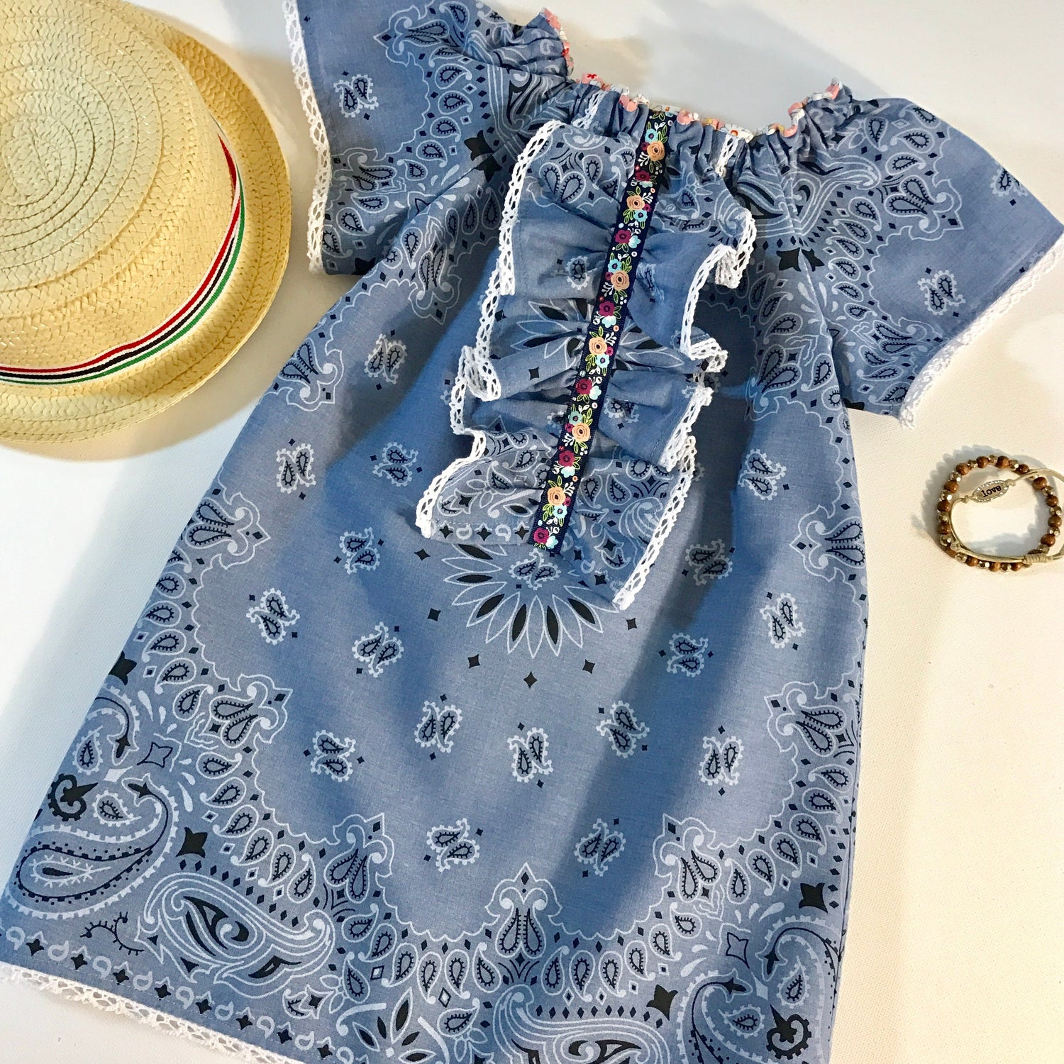 Chambray Hanky Dress